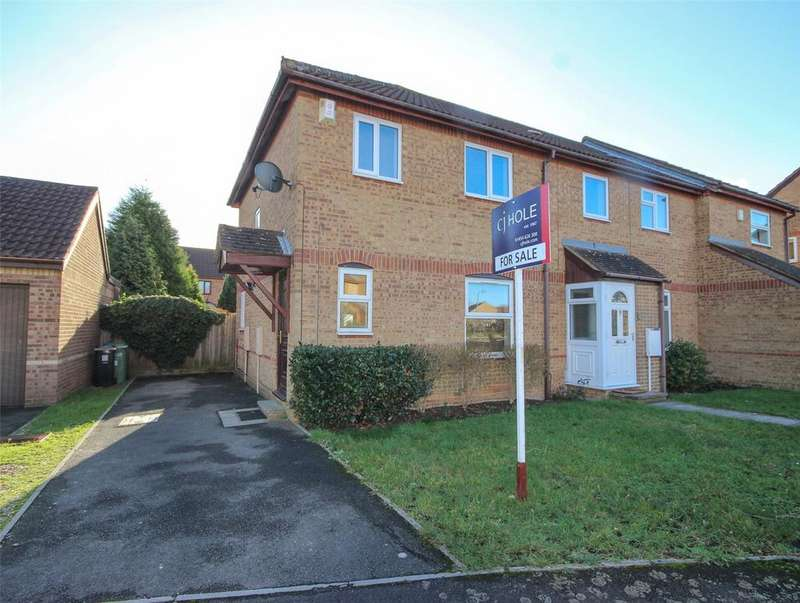 3 Bedrooms End Of Terrace House for sale in Paddock Close, Bradley Stoke, Bristol, BS32