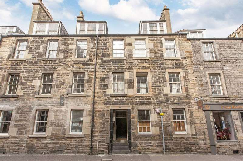 1 Bedroom Flat for sale in 47 (1F1), Thistle Street, EDINBURGH, EH2 1DY
