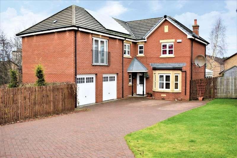 5 Bedrooms Detached House for sale in Morven Drive, Motherwell, North Lanarkshire, ML1 2TT