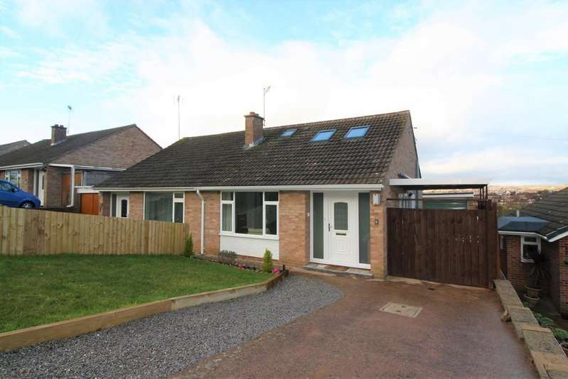 3 Bedrooms Semi Detached House for sale in Sullivan Road, Exeter