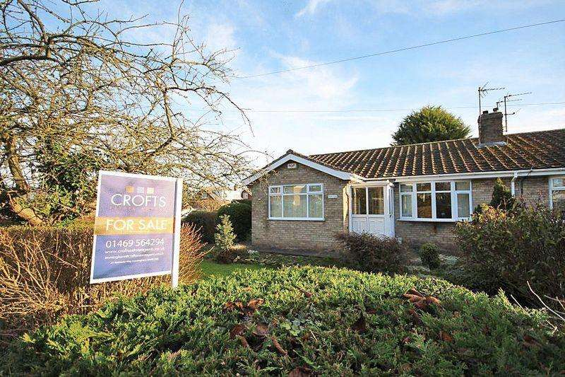 3 Bedrooms Semi Detached Bungalow for sale in ABBEY ROAD, ULCEBY