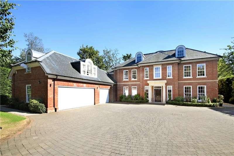 7 Bedrooms Detached House for sale in Nuns Walk, Virginia Water, Surrey, GU25