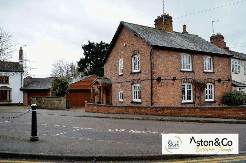3 Bedrooms Unique Property for sale in Ploughwheel Cottage, Glenfield, Leicestershire