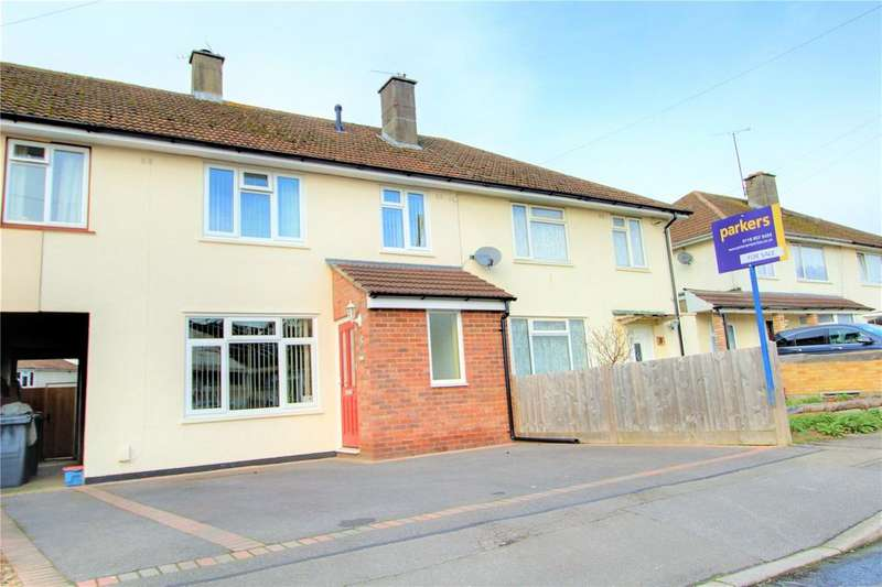 3 Bedrooms Terraced House for sale in Exwick Square, Reading, Berkshire, RG2