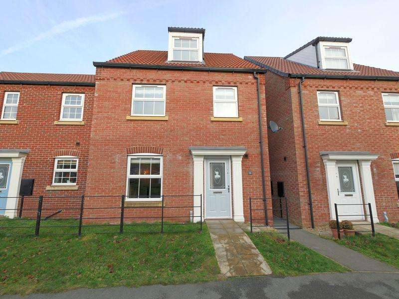 4 Bedrooms Semi Detached House for sale in Ploughmans Walk, Carlton Boulevard, Lincoln