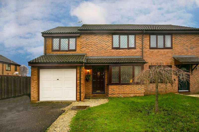 3 Bedrooms Semi Detached House for sale in Sibson, Lower Earley, Reading, RG6 3DU