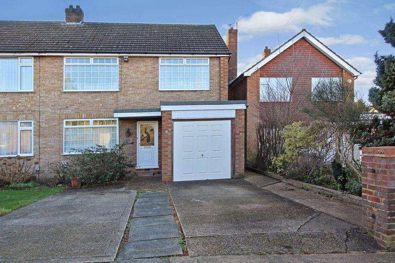4 Bedrooms Semi Detached House for sale in Chatteris Close, Luton