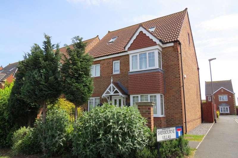 5 Bedrooms Detached House for sale in Sherbourne Villas, Stakeford