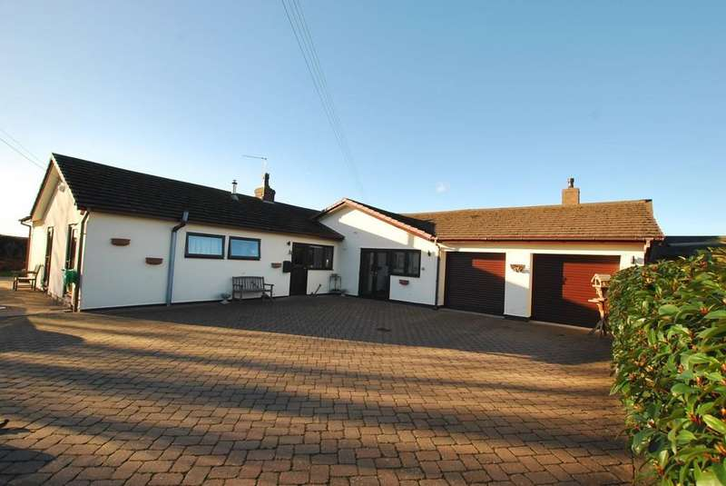 2 Bedrooms Detached Bungalow for sale in Meeson, Telford, Shropshire, TF6 6PE