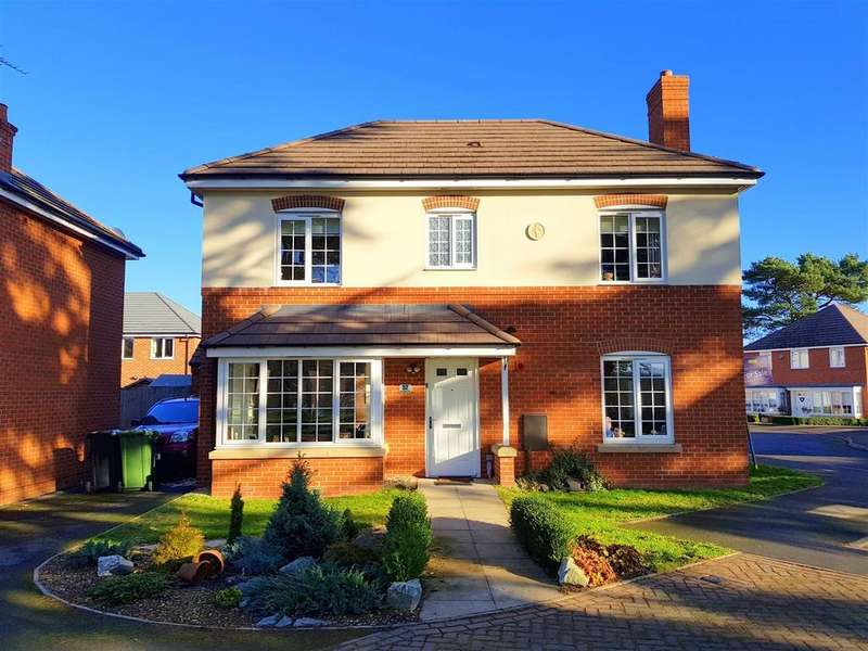 4 Bedrooms Detached House for sale in Lucy Baldwin Close, Stourport-On-Severn