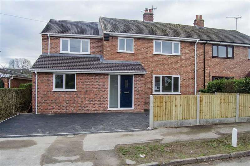 4 Bedrooms Semi Detached House for sale in Arrowcroft Road, Guilden Sutton, Chester, Chester