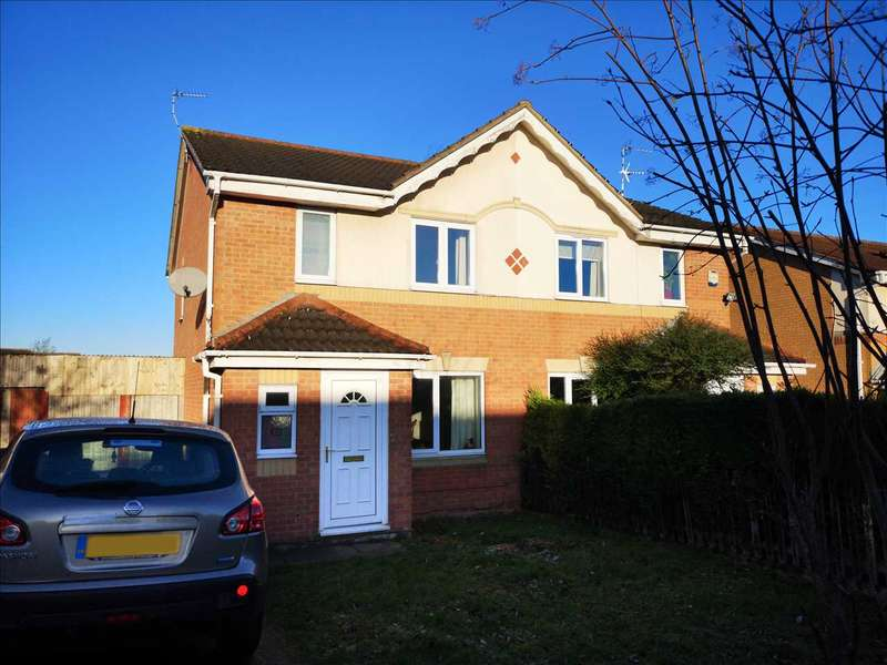 3 Bedrooms Semi Detached House for sale in Boynton Road, Leicester