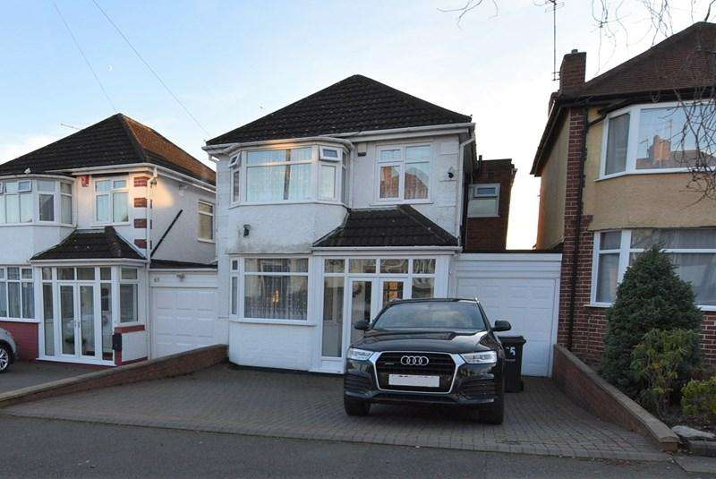 4 Bedrooms Detached House for sale in Oak Road, Oldbury