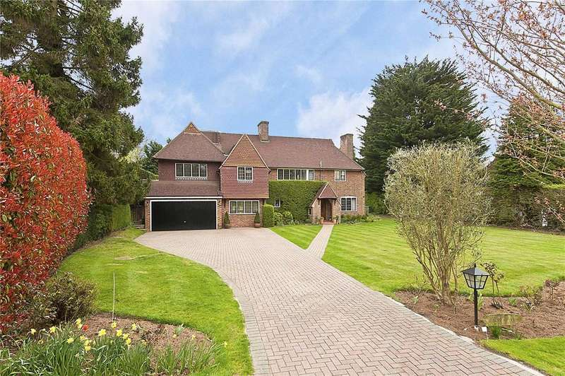 6 Bedrooms Detached House for sale in Claremont Drive, Esher, Surrey, KT10