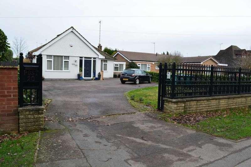 3 Bedrooms Bungalow for sale in Whiteways, Tamworth Road, Keresley, Coventry, CV6 2EL