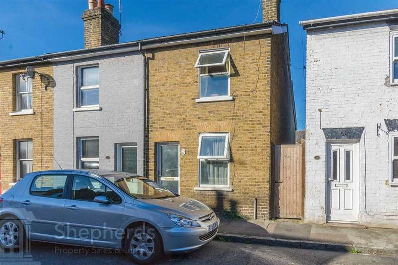 2 Bedrooms End Of Terrace House for sale in North Road, Hoddesdon, Hertfordshire, EN11