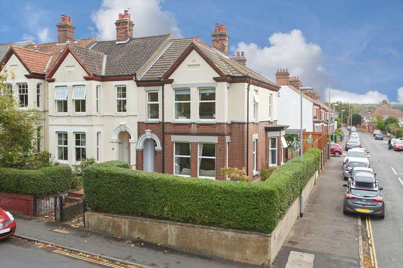 4 Bedrooms End Of Terrace House for sale in Constitution Hill, Norwich