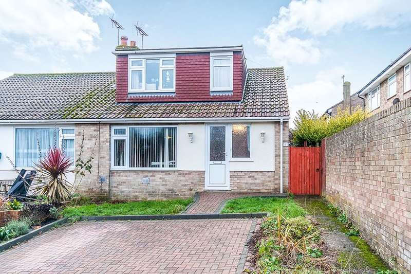 3 Bedrooms Semi Detached Bungalow for sale in Prospect Gardens, Minster, Ramsgate, CT12