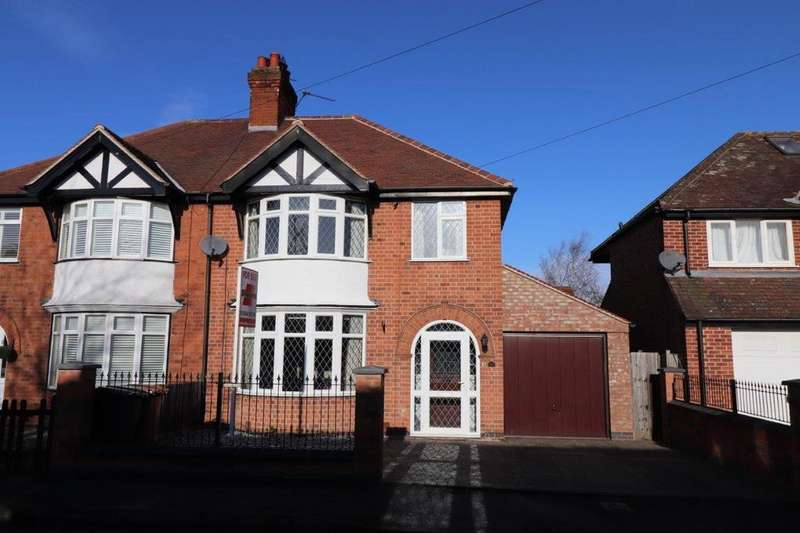 3 Bedrooms Semi Detached House for sale in COLLEGE AVENUE, MELTON MOWBRAY