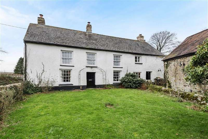 3 Bedrooms Detached House for sale in Whiddon Down, Okehampton, Devon, EX20