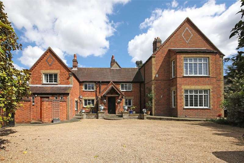 5 Bedrooms Detached House for sale in Bowyers Lane, Moss End, Bracknell, Berkshire, RG42