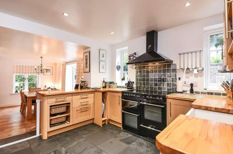 4 Bedrooms Semi Detached House for sale in Parkside Cottages, Eastleigh Road, Havant, PO9