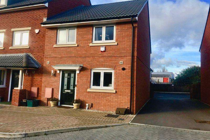 3 Bedrooms End Of Terrace House for sale in Brickworks Close, Bristol, BS5 7BF