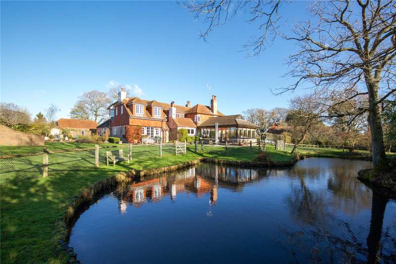 5 Bedrooms Detached House for sale in Wineham Lane, Wineham, Henfield, West Sussex, BN5