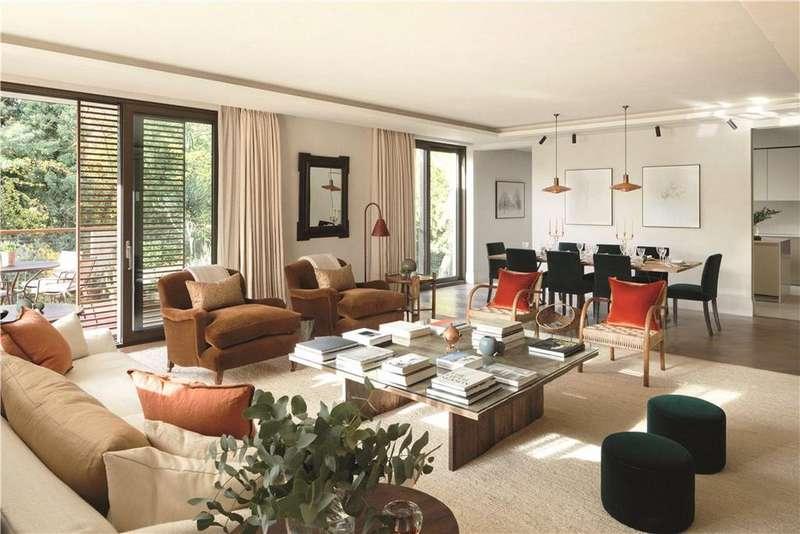 5 Bedrooms Flat for sale in Apartment 66, Holland Park Villas, Kensington, London, W8