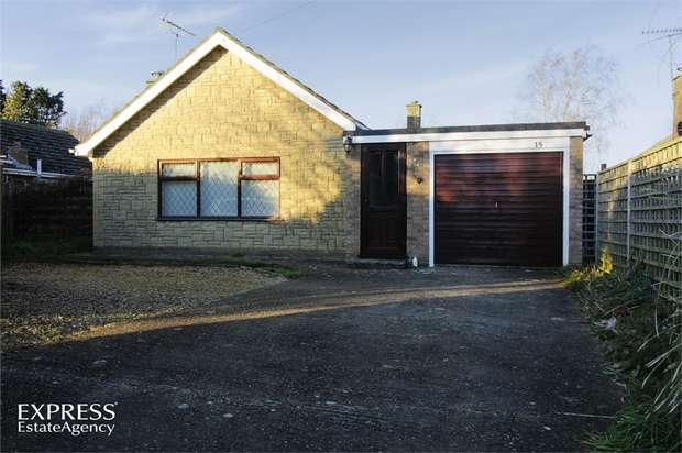 3 Bedrooms Detached Bungalow for sale in Fen Road, Pointon, Sleaford, Lincolnshire