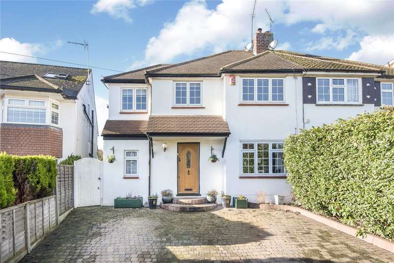 5 Bedrooms Semi Detached House for sale in Copthall Road West, Ickenham, Uxbridge, Middlesex, UB10