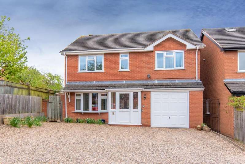 4 Bedrooms Detached House for sale in Cox Close, Bidford-On-Avon, Alcester