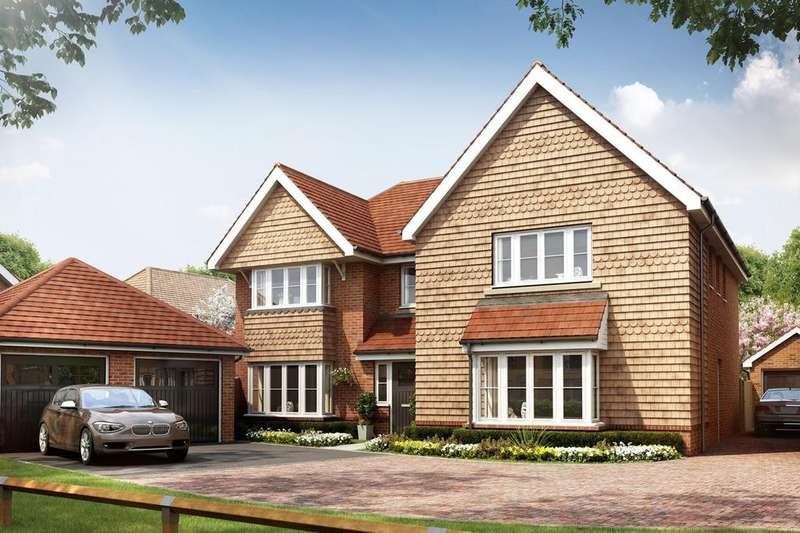 5 Bedrooms Detached House for sale in Beech Hill Road, Spencers Wood, Reading, RG7