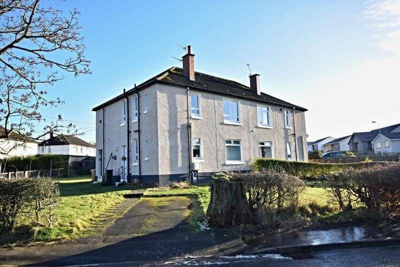 2 Bedrooms Flat for sale in John Allan Drive , Cumnock , East Ayrshire , KA18 3AG