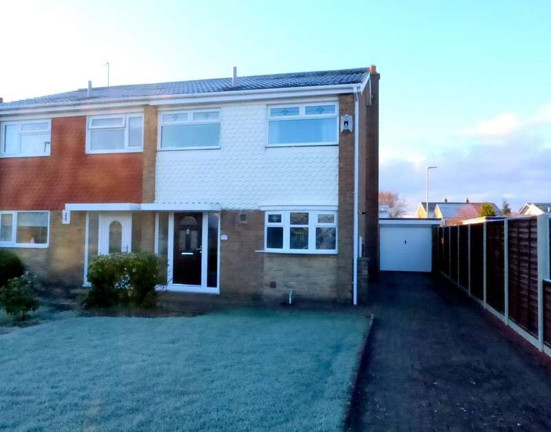 3 Bedrooms Semi Detached House for sale in Eastleigh, Thornaby, Stockton-On-Tees, TS17