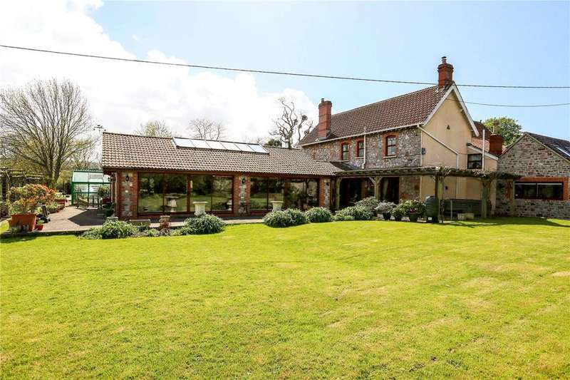 5 Bedrooms Detached House for sale in Stock Lane, Langford, Bristol, BS40
