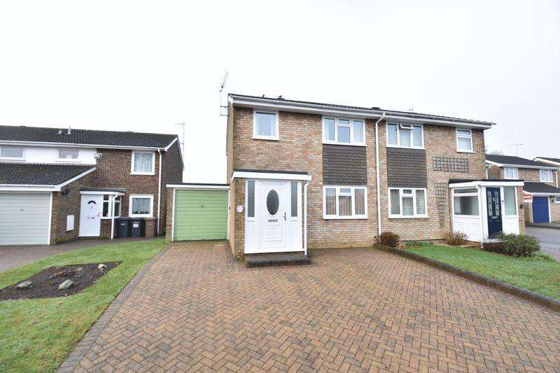 3 Bedrooms Semi Detached House for sale in Buckingham Drive, Luton