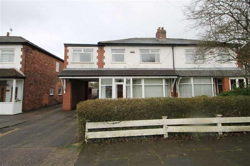 4 Bedrooms Semi Detached House for sale in Holly Road, Manchester