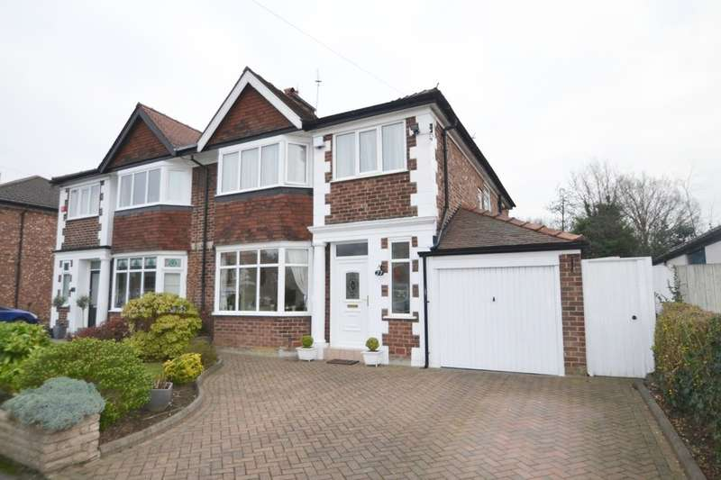 4 Bedrooms Semi Detached House for sale in Broadway, Cheadle