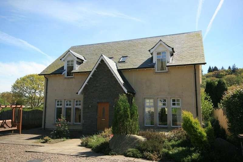 4 Bedrooms Detached Villa House for sale in 5 Dundurn Walk, St Fillans, PH6 2NA