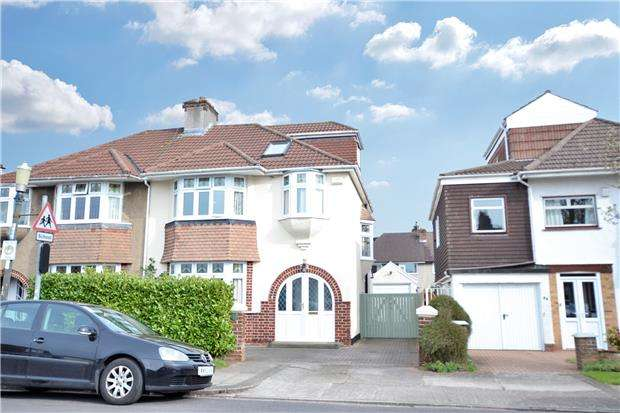 4 Bedrooms Semi Detached House for sale in Reedley Road, Bristol, BS9 3TB