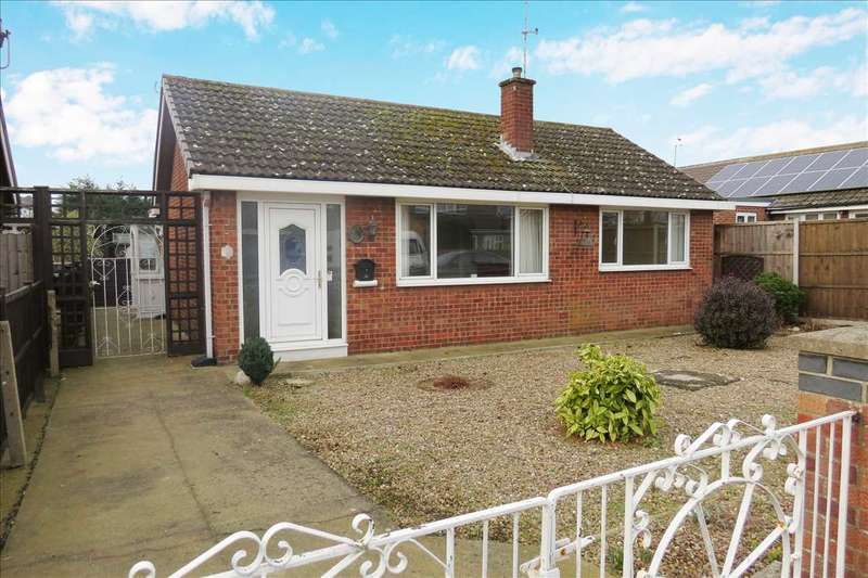 2 Bedrooms Detached Bungalow for sale in Meadowfield, Sleaford