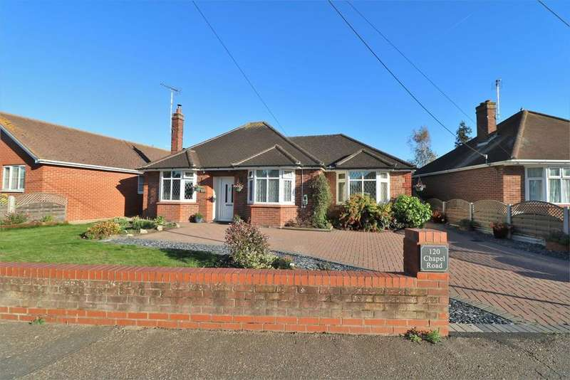 3 Bedrooms Detached Bungalow for sale in Chapel Road, Brightlingsea, Colchester, CO7
