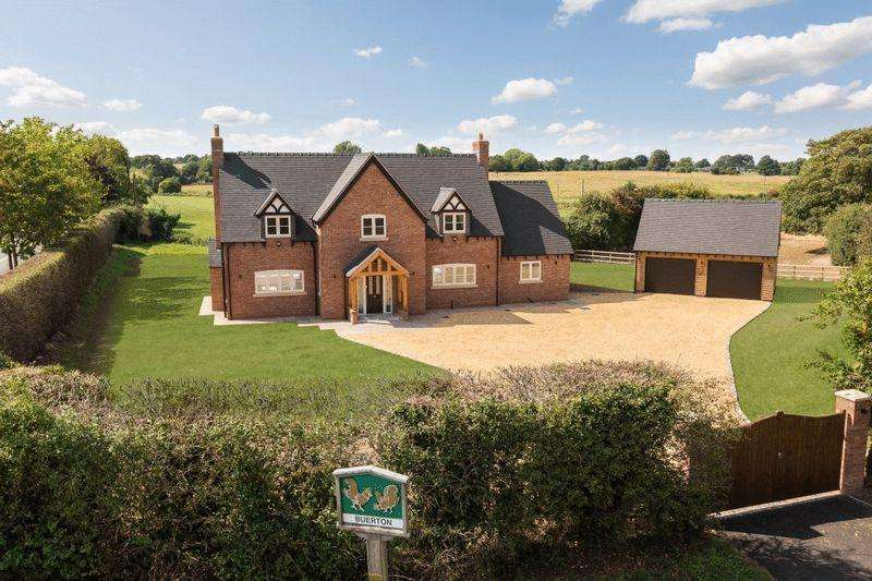 4 Bedrooms Detached House for sale in The Gables, Buerton, Near Audlem