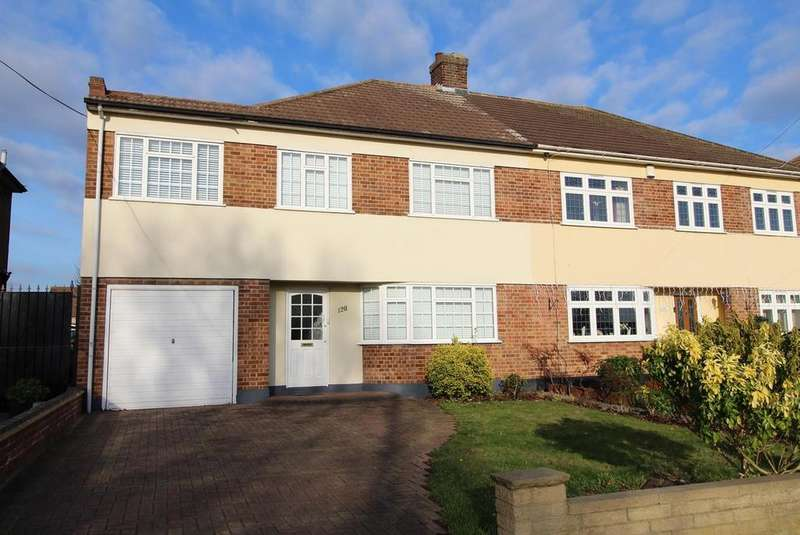 5 Bedrooms Semi Detached House for sale in Little Gaynes Lane, Upminster, Essex, RM14