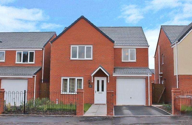 4 Bedrooms Detached House for sale in Ward Street, Wolverhampton