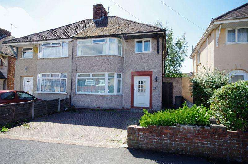 3 Bedrooms Semi Detached House for sale in Durban Road, Patchway, Bristol