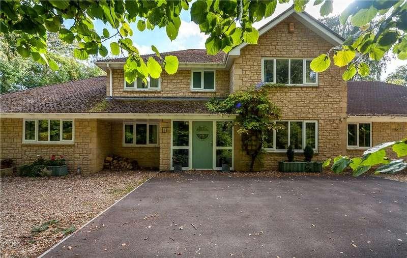 5 Bedrooms Detached House for sale in Brokerswood, Westbury, Wiltshire, BA13