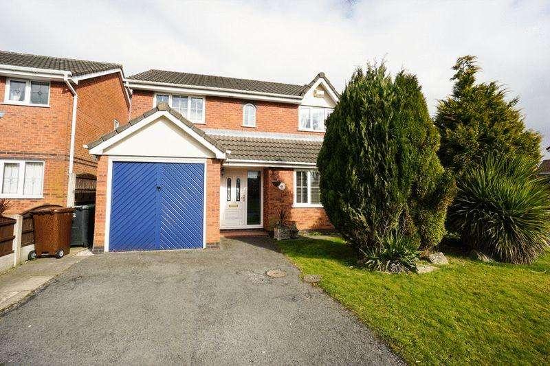 4 Bedrooms Detached House for sale in Parklands Drive, Aspull