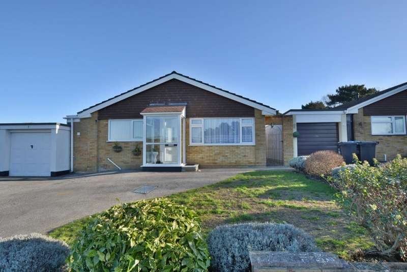 3 Bedrooms Detached Bungalow for sale in Aaron Close, Canford Heath, Poole, BH17 8QN